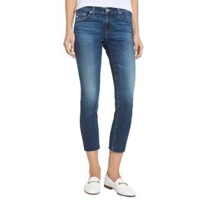 AG jeans The Stilt cropped cigarette crop jeans